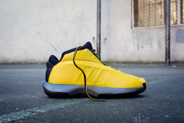 "pretty nice d5ae1 c7523 巴恩斯赛场上脚adidas Crazy 1 ""Sunshine"""