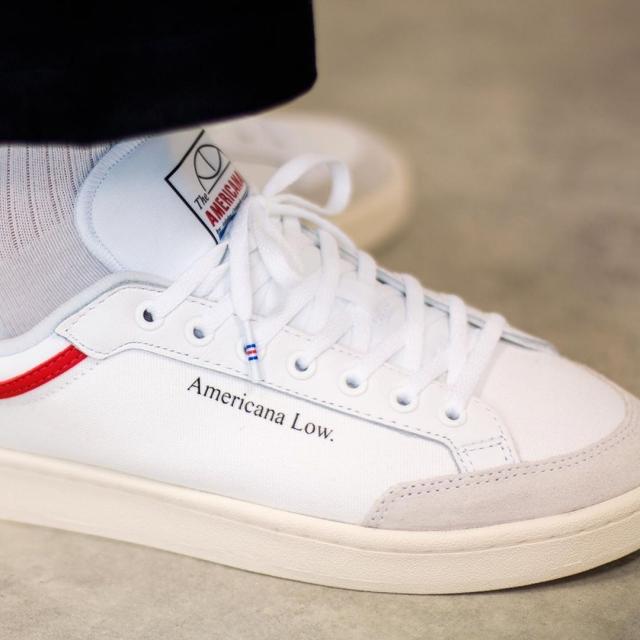 高街气质滑板鞋!adidas Americana Low 上脚有点香!