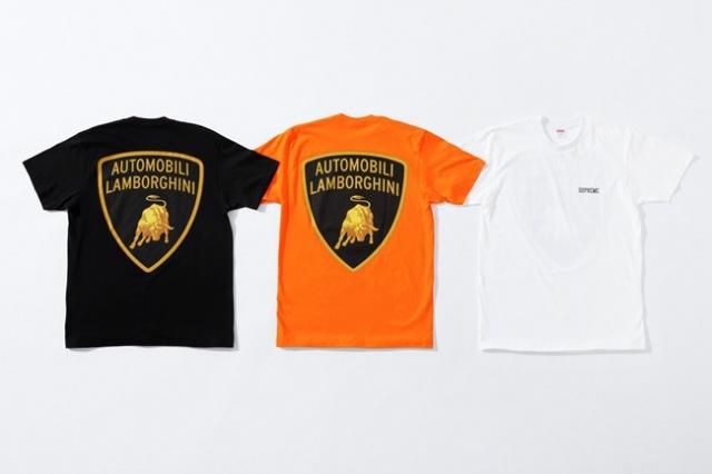 顶级超跑联名!兰博基尼 x Supreme 明日开售,完整单品曝光!