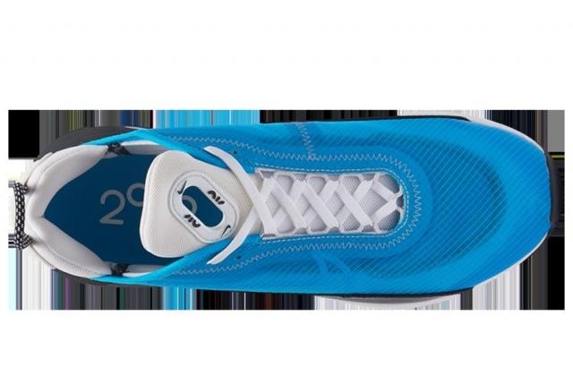 白蓝配色活力十足!这双 Air Max 2090 最特别的还是 Swoosh!