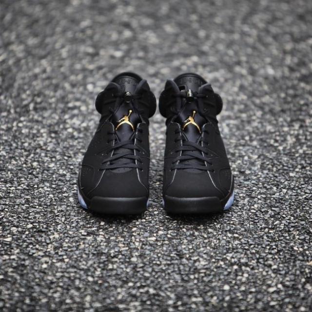 天猫预告释出!黑金 Air Jordan 6 DMP 本周六发售!