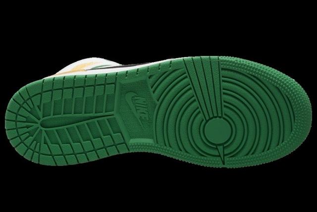 特殊材质 + 清新色调!全新配色 Air Jordan 1 Mid 新鲜出炉!