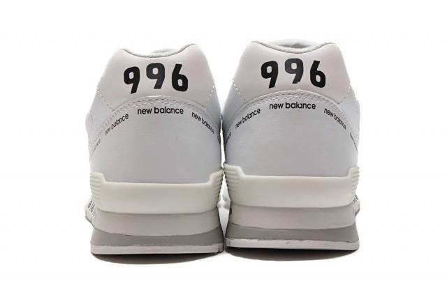 标语装饰 + 弹幕中底!全新配色 New Balance 996 现已发售!