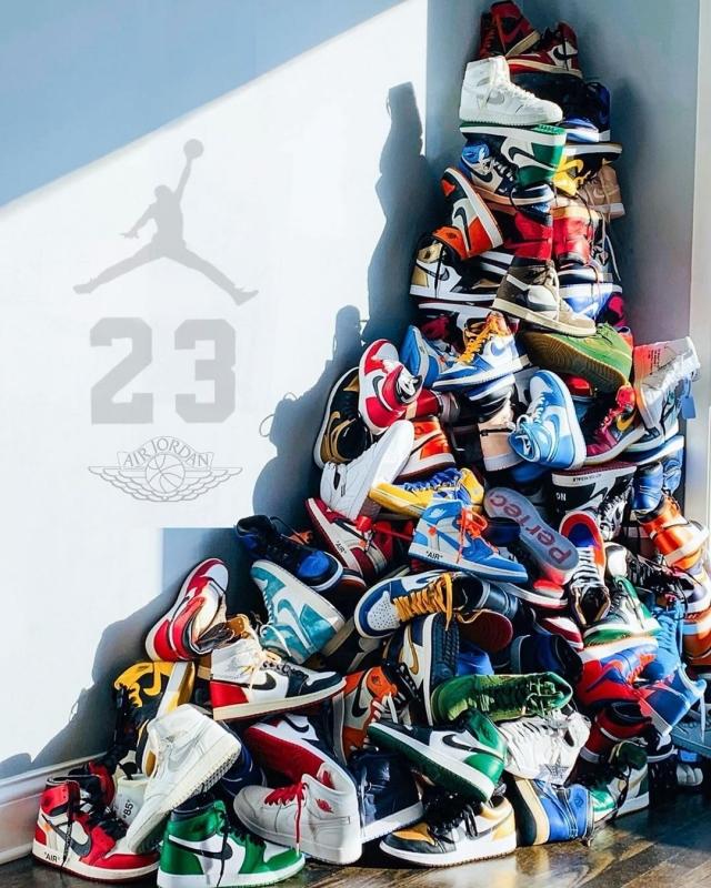 干货!原来 Air Jordan 1 的元年配色有这么多...