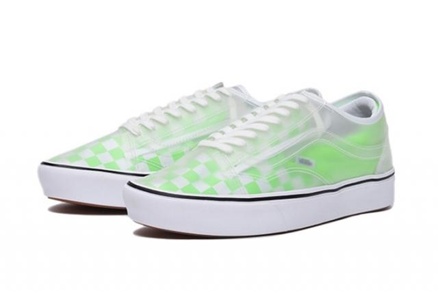 超人气鞋型合二为一!荧光色 Vans Slip-Skool 即将发售