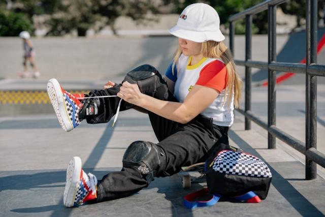 Vans 为 15 岁女滑手打造个人签名系列!现在就能买!