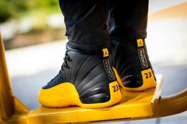 上脚效果超醒目!Air Jordan 12 带来活力新装扮!