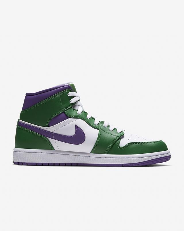 刚刚上架!「绿巨人」配色 Air Jordan 1 Mid 现在就能买!