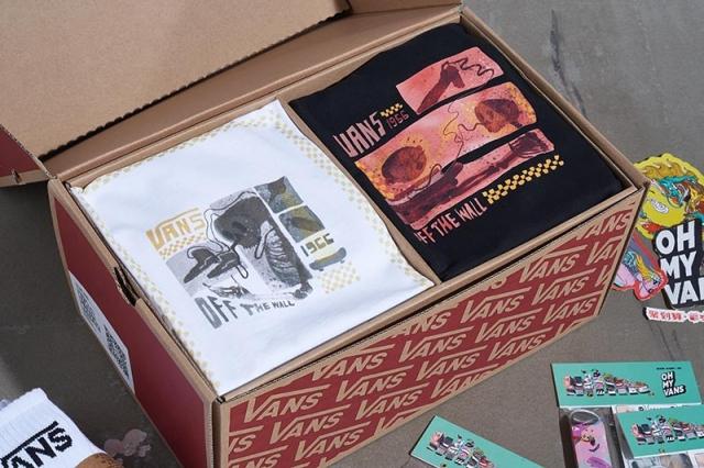 mini 滑板、丰富配饰!限量 666 套 Vans 礼盒现已上架!