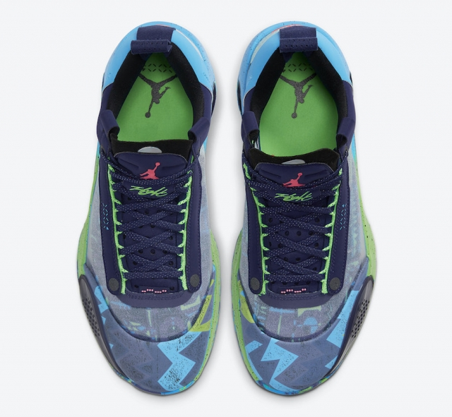 AJ34 Low 有新配色了!名副其实的夏季顶级战靴!