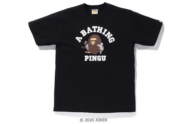 难以抗拒的卡通联名!企鹅家族 BAPE x PINGU 即将发售