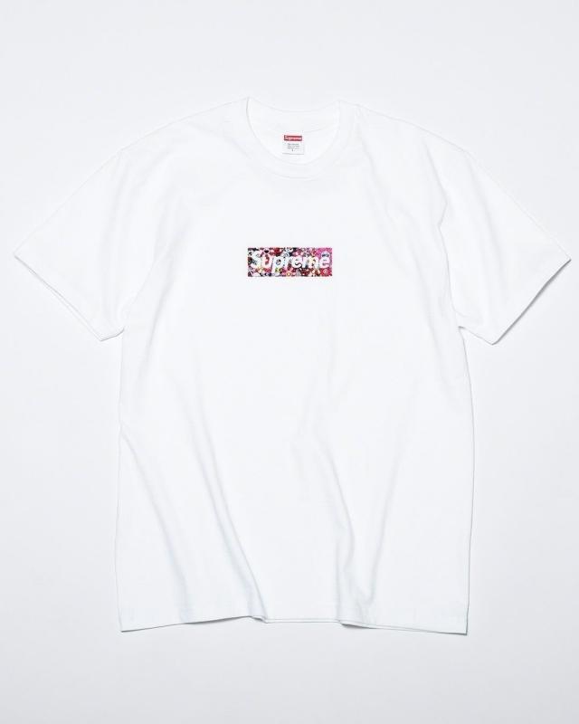 潮流圈最顶级联名!村上隆 x Supreme Box Logo Tee 本周发售!