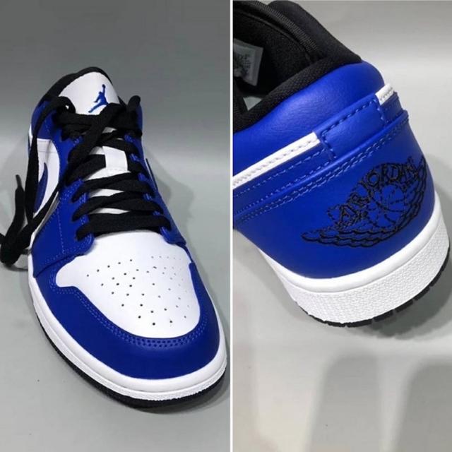 夏日上脚新选择!皇家蓝 Air Jordan 1 Low 即将发售!