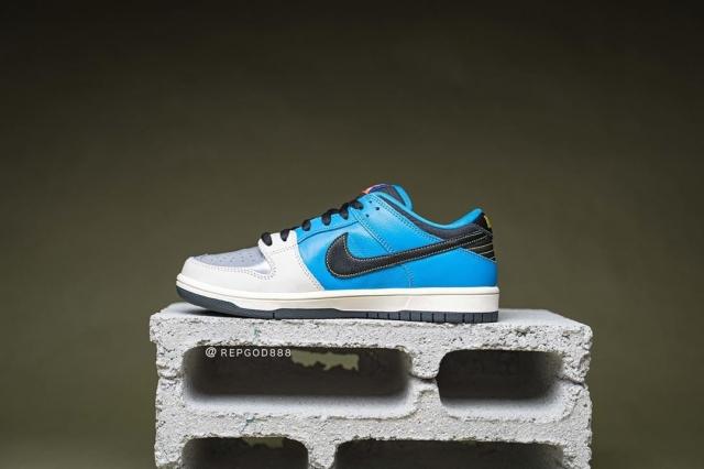 过目难忘的联名配色!两双新配色 Nike Dunk SB 实物细节曝光!