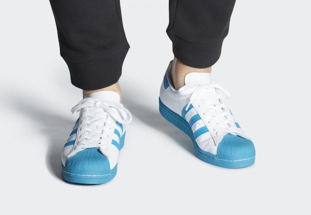 清爽夏日搭配!全新配色 adidas Superstar 即将发售!