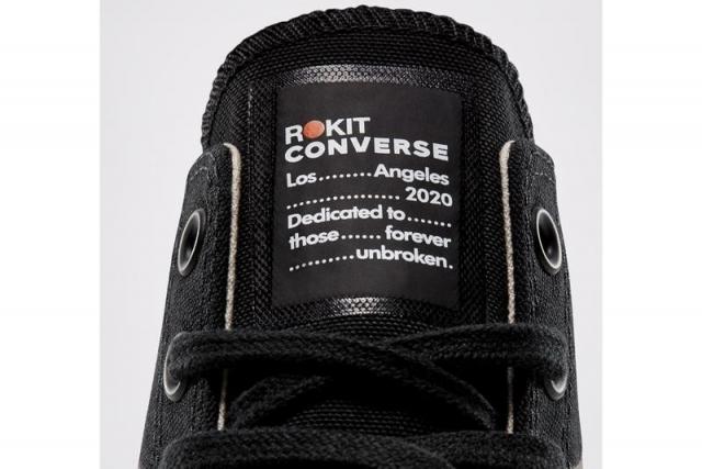 知名球鞋店铺的新联名!ROKIT x Converse All Star 本月发售!