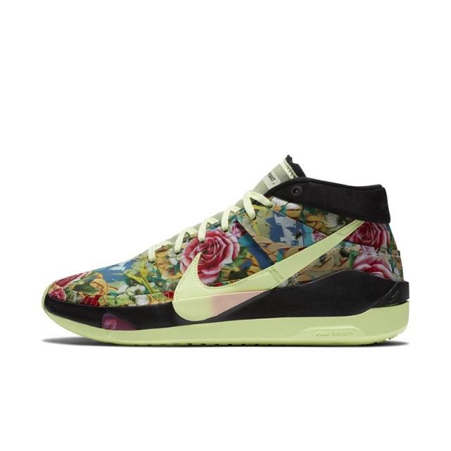 又一款 2K 巨星战靴曝光!花卉 Nike KD 13 GE 即将发售!