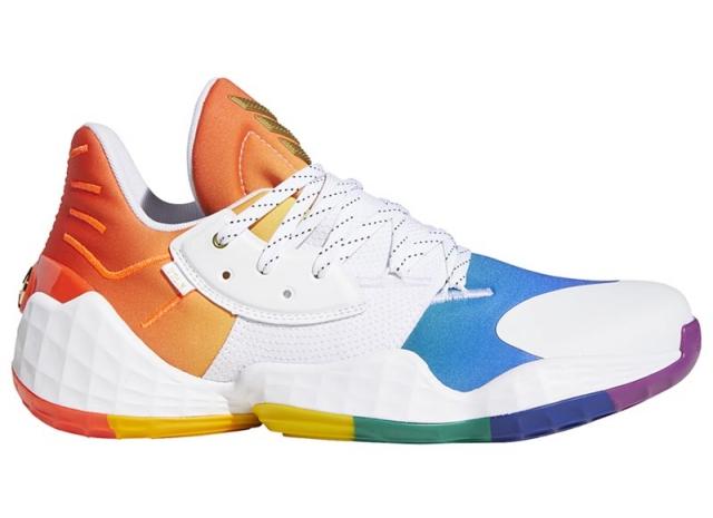 adidas Pride 系列新成员!彩虹 Harden Vol. 4 即将发售!