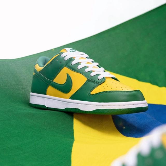 巴西风情浓厚!全新 Nike Dunk Low 官图释出!本月即将发售