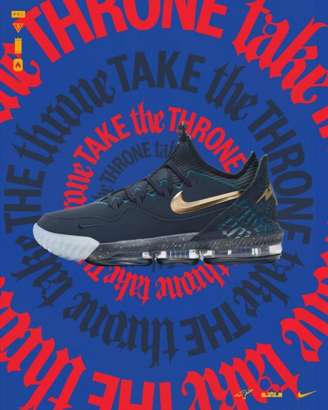 第四次联名合作!全新 Titan x Nike LeBron 17 Low 风格大变?