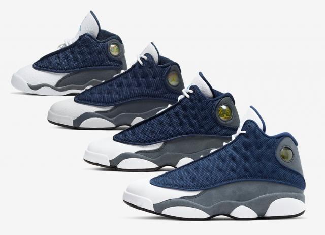 情侣鞋有戏了!Air Jordan 13 GIGI 将带来全家族尺码!