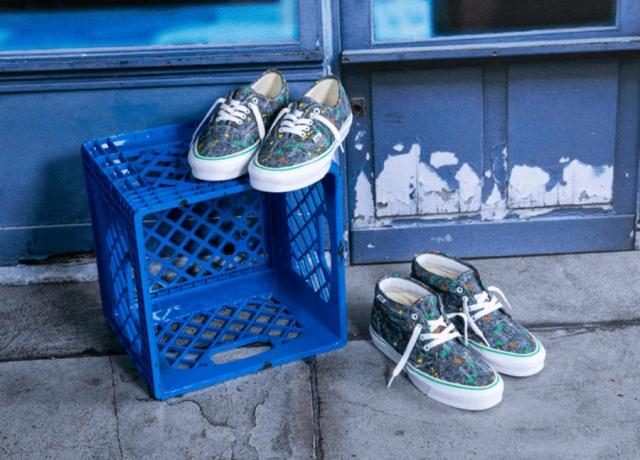 设计师联名重磅来袭!Fergus Purcell x Vans 近期即将发售!
