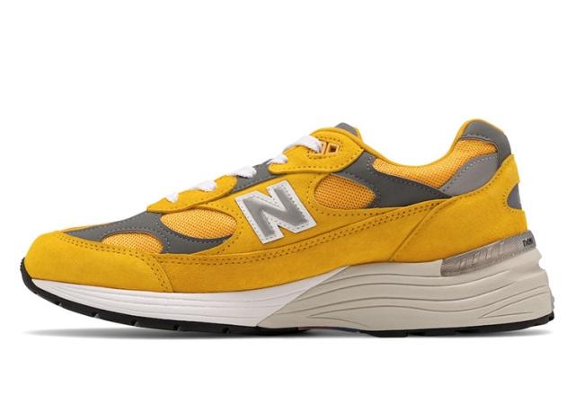 New Balance 992 再出全新配色!亮眼黄色装扮你打几分?