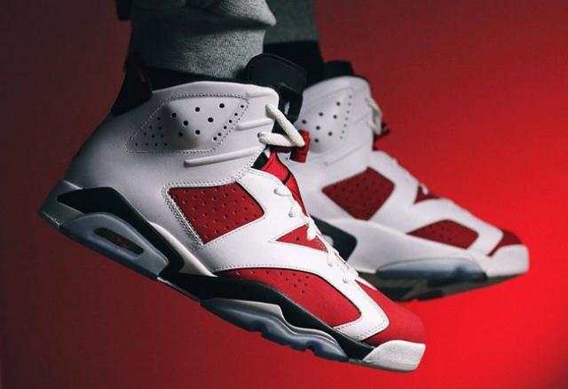 等了 7 年的元年配色!胭脂 Air Jordan 6 改至明年 2 月回归!