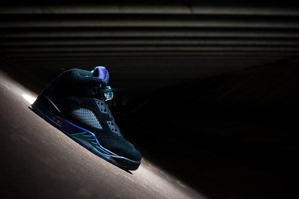 air jordan v black grape release reminder 2 Air Jordan V Black Grape   Release Reminder