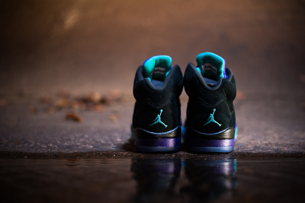 air jordan v black grape release reminder 1 Air Jordan V Black Grape   Release Reminder