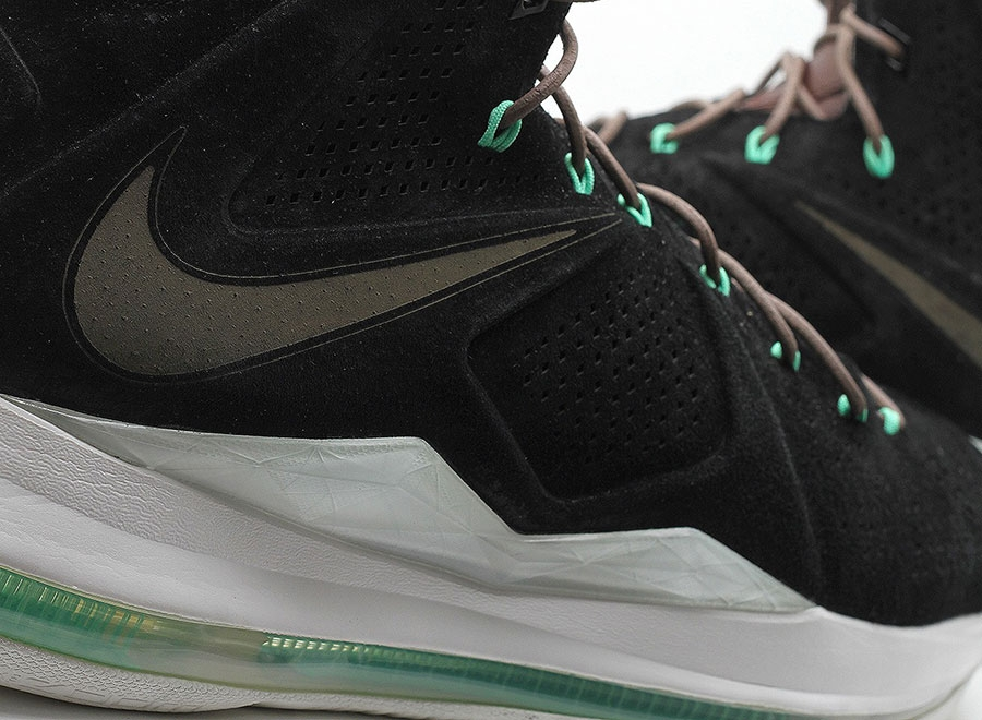 black suede nike lebron x Black Suede Nike LeBron X EXT