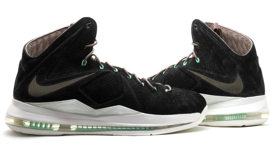 black suede nike lebron x 12 Black Suede Nike LeBron X EXT