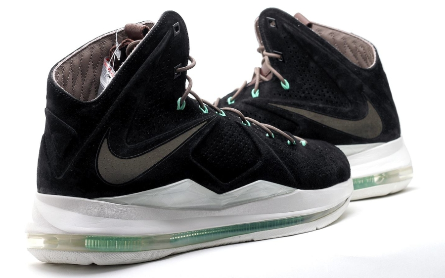black suede nike lebron x 10 Black Suede Nike LeBron X EXT