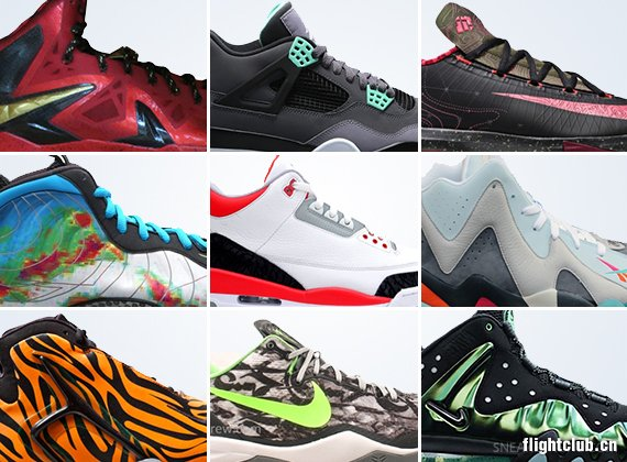 august 2013 sneaker releases summary August 2013 Sneaker Releases