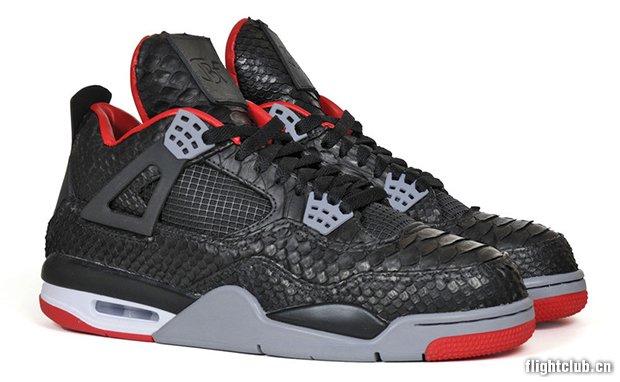Air Jordan 4 Python by JBF Customs