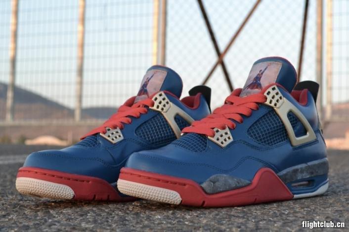 Air Jordan 4 Jumpman of Steel by Freker Sneaks