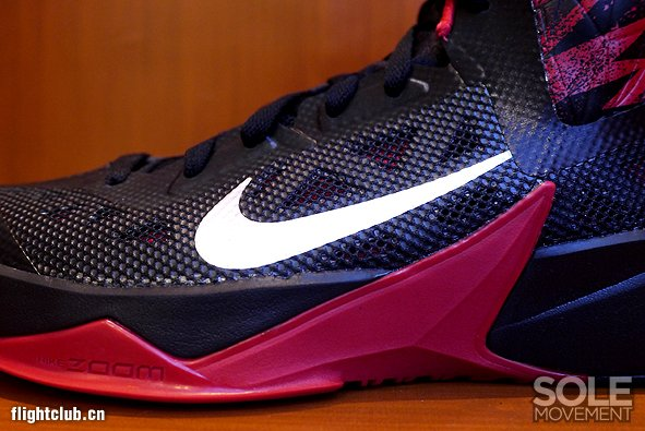 Nike Zoom Hyperfuse 2013 红黑实物欣赏