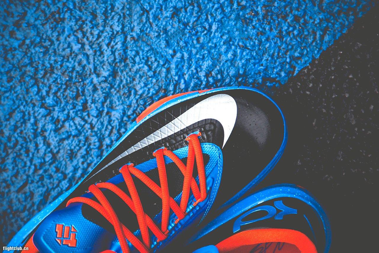 "Nike KD6 ""OKC Away/雷霆客场"" 高清图赏 球鞋资讯 ..."