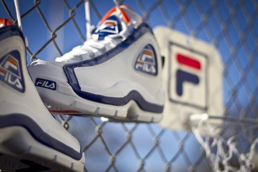 """3a1c4c6e42d4a69e8770fbac94032eb3 Available: Fila Grant Hill 2 (96) """"New York Knicks"""""""