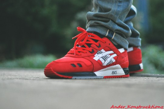 Ander Konstrucktionz Asics Gel Lyte 3 Red Black 540x358