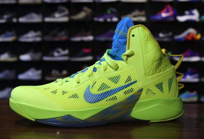 Nike Zoom Hyperfuse 2013 黄绿配色实物曝光