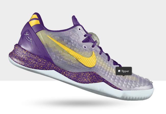 "Kobe 8 Nikeid 新增 ""shedding Skin"" 鞋面选项 科比8龙甲盔甲 球鞋资讯"