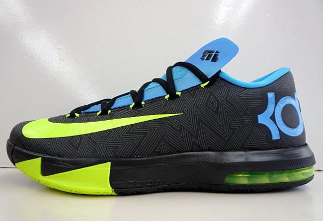 Nike KD6 新鞋面图纹样式配色即将丢售
