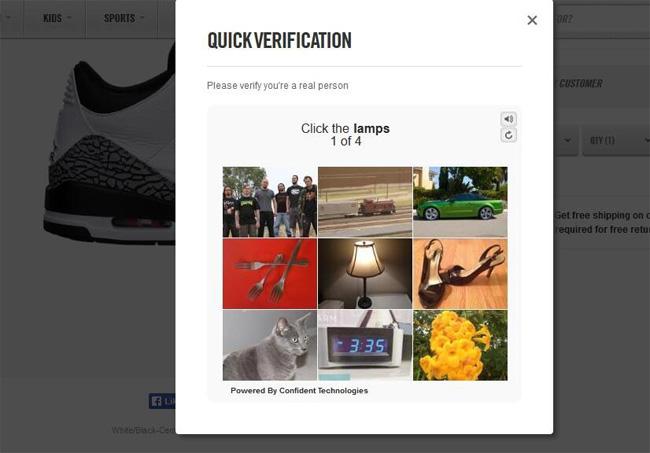 Nike 升级验证码功能,对抗机器人下单