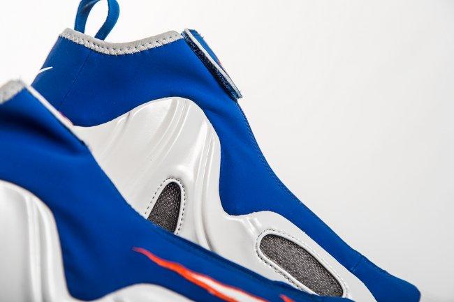 "642307-100,Flightposite,尼克斯风一 风一复刻642307-100 Nike Air Flightposite ""Knicks"" 尼克斯配色美图欣赏"