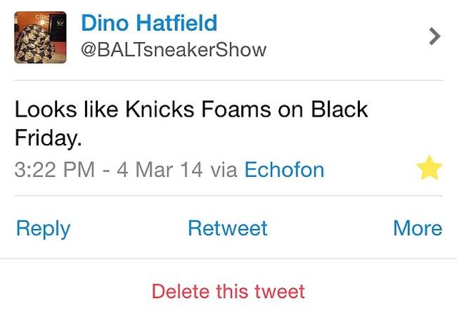 """尼克斯喷,Foamposite One,Foamposite 尼克斯喷 Nike Air Foamposite One """"Knicks"""" 尼克斯配色发售信息"""