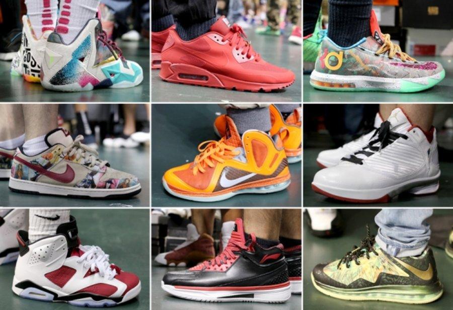 SneakerCon,Sneaker Con SneakerCon Sneaker Con 迈阿密站 5 月球鞋上脚(上)