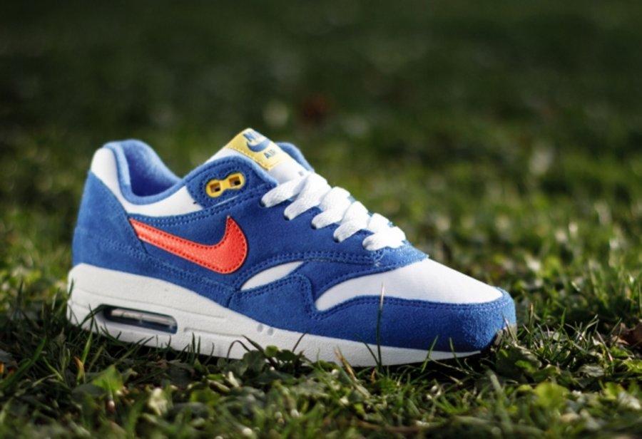 """Nike Air Max 1  Nike Air Max 1 GS """"Hyper Cobalt"""" 新色发售"""