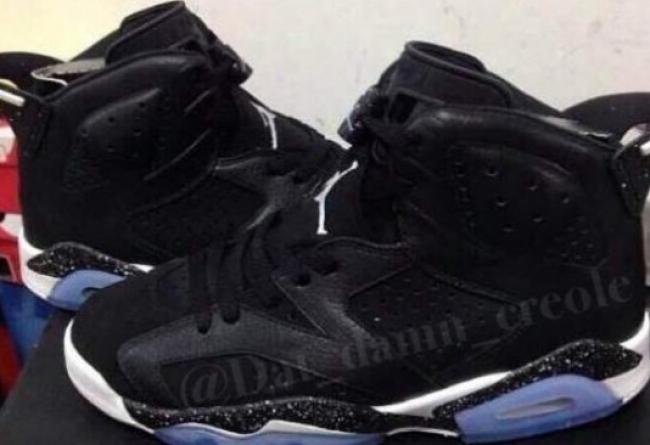 """乔丹2014复刻_Air Jordan 6 """"Oreo"""" 2014 复刻版更多实物 AJ6奥利奥 球鞋资讯 ..."""
