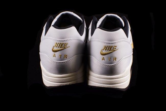 """Nike Air Max 1,665873-001 665873-001 Nike Air Max 1 Premium QS """"Gold Trophy"""" 即将发售"""